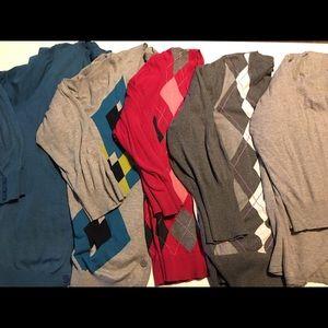 7daed9b7cf 50% off Lane Bryant Sweaters Waffle Cardigan Dark Tan Sz 26 Hw683 ...